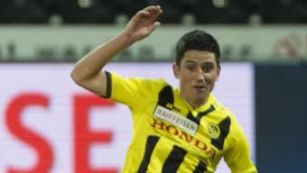 Moreno Costanzo, hier noch im YB-Dress, soll zum FC Aarau wechseln