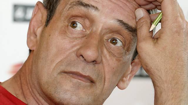 Das Rückspiel bereitet ihm kein Kopfzerbrechen: Rolf Brack