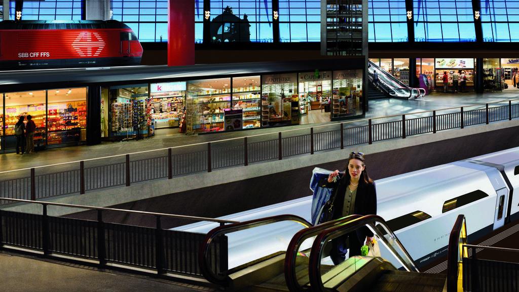 SBB unterstützt den Tiefbahnhof Luzern