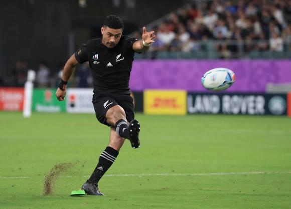 Durch Richie Mo'ungas Kickspiel hat sich die Taktik Neuseelands verändert.