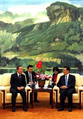 Mit UNO-Generalsekretär Ban-Ki-Moon