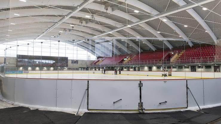 Bietet immer wieder Gesprächsstoff: die Keba. In der Halle ist jetzt öffentlicher Eislauf möglich (heute von 13.30 bis 16.30 Uhr).