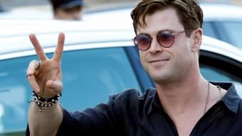 Wirkt an einer Doku über Haie mit: der australische Schauspieler Chris Hemsworth. (Archivbild)
