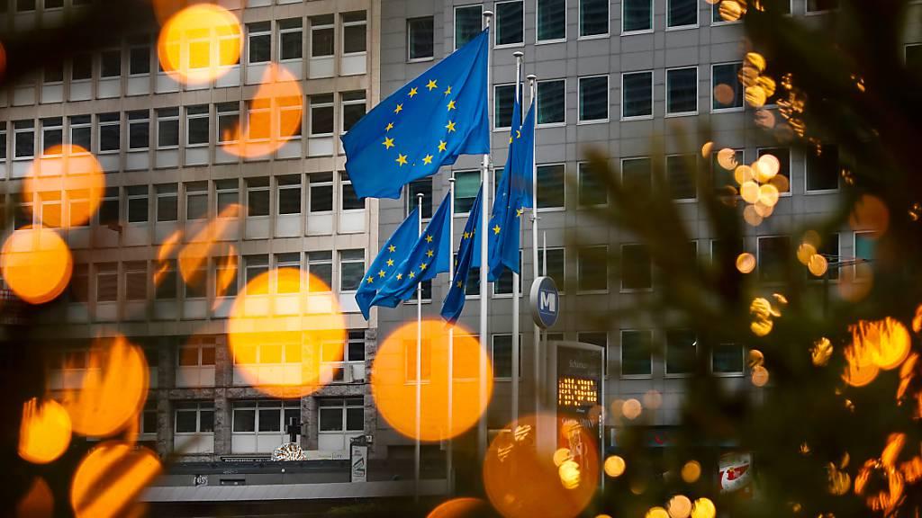 Der Hauptsitz der Europäischen Kommission in Brüssel. Foto: Francisco Seco/AP/dpa