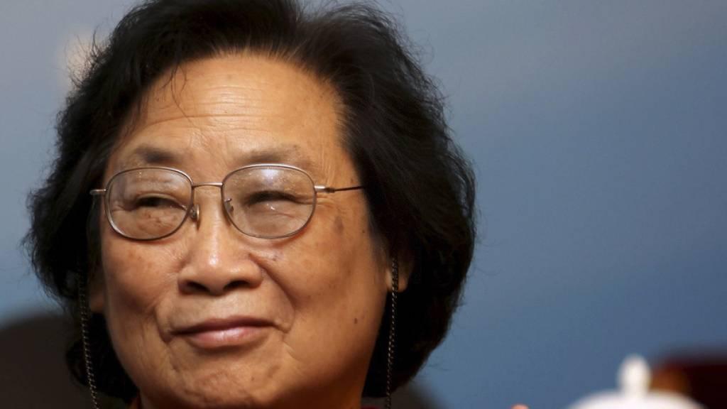 Die chinesische Pharmakologin Tu Youyou erhielt 2015 den Nobelpreis für die Entwicklung eines Medikaments, das die Sterberate bei Malaria erheblich senkt. Nun ist China einen Schritt weiter: Das Land ist etwa das 40ste weltweit, das die Krankheit ausgerottet hat (Archivbild).