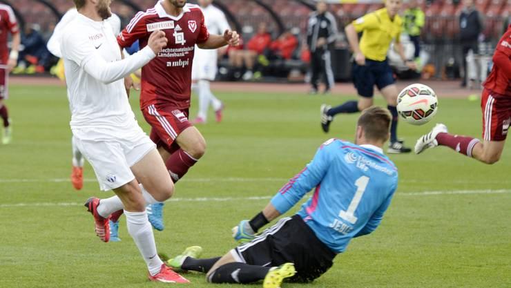 Torschütze für den FCZ: Christian Schneuwly (l.) erzielt das 1:1