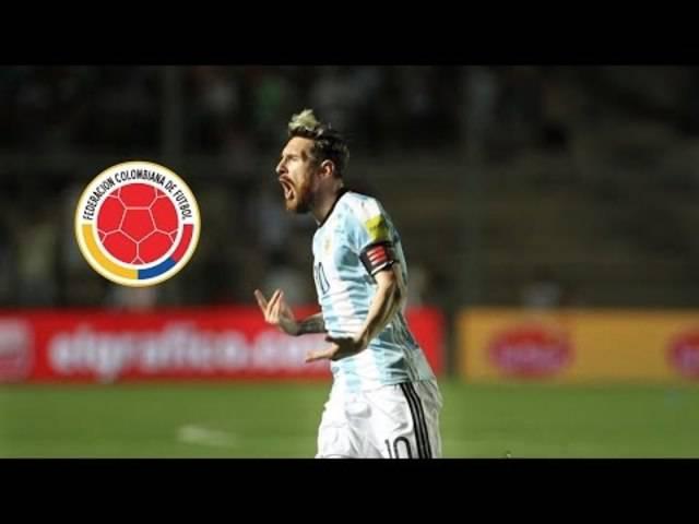 Lionel Messis Show gegen Kolumbien