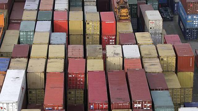 Das IWF rechnet mit vollen Containern im nächsten Jahr (Archiv)