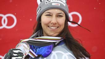 Wendy Holdener erweitert an den Schweizer Meisterschaften ihre Medaillensammlung