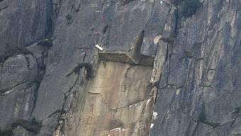 Im Mai ging in der Schöllenenschlucht ein Felssturz nieder. (Archivbild)