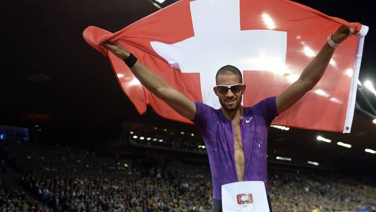 Kariem Hussein triumphierte im heimischen Letzigrund über 400 Meter.
