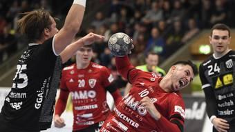 Handball, NLA, 2019/20: HSC Suhr Aarau - Pfadi Winterthur (27.11.2019)