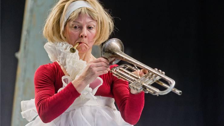 Monique Schnyder als «Damioscha».