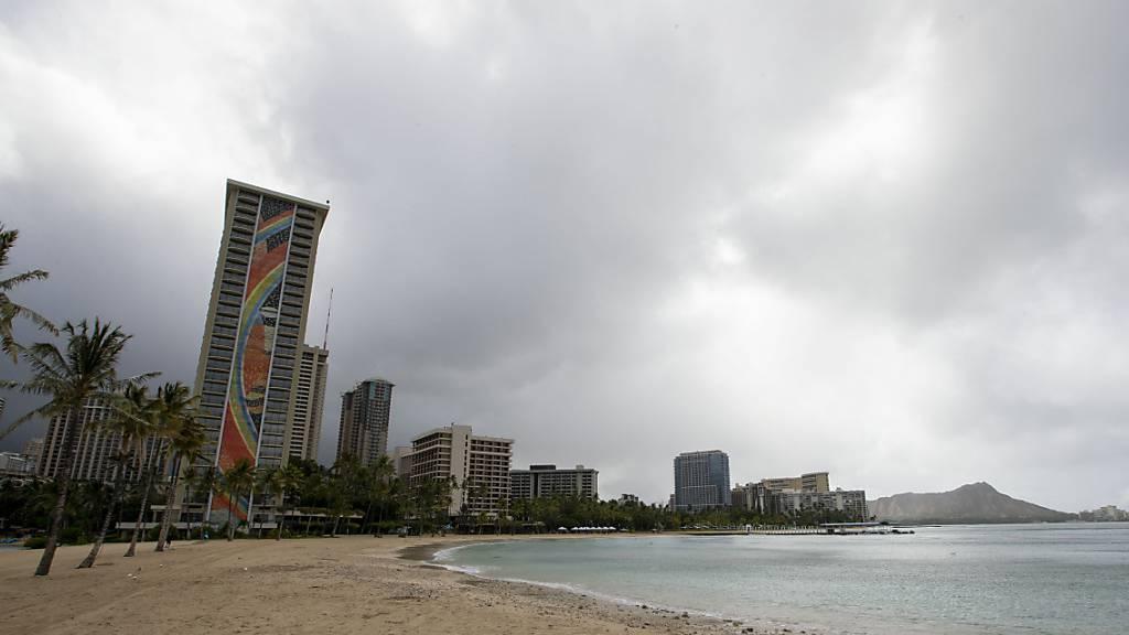 Hurrikan «Douglas» rast auf Hawaii zu