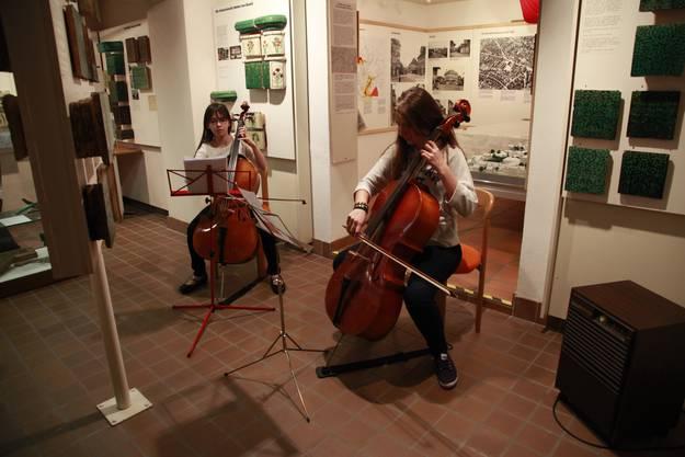 Cellokla¨nge im Keller des Ortsmuseums