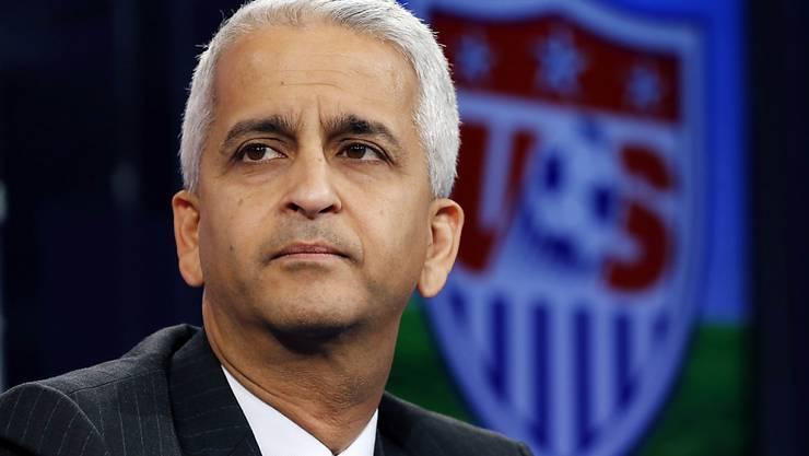 Der amerikanische Verbandspräsident Sunil Gulati zieht mit Kanada und Mexiko ins WM-Bewerbungsrennen