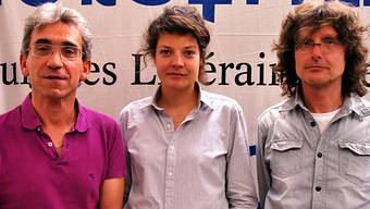 Franco Supino, Reina Gehrig und Beat Mazenauer (v.l.)