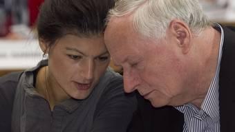 Ein Paar oder doch nicht? Oskar Lafontaine und Sahra Wagenknecht