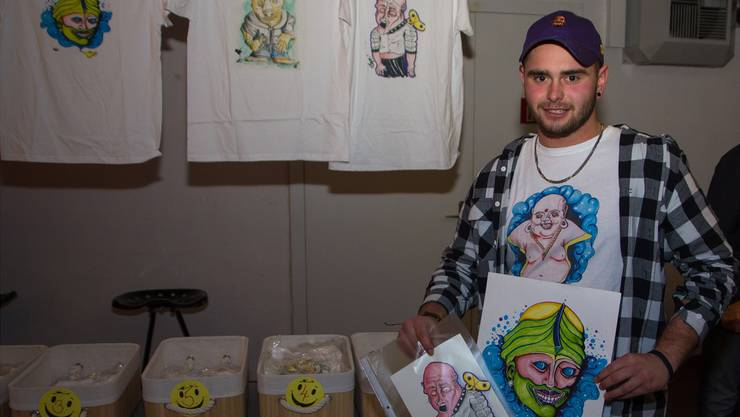 Derzeit zeichnet Eric Meier oft im Comicstil – seine Fantasie kennt kaum Grenzen.