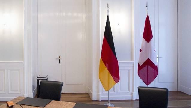 Deutschland und die Schweiz erneuern ihr Abkommen. (Symbolbild)