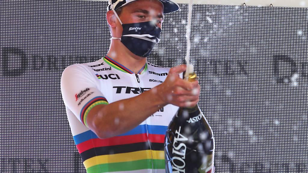 Weltmeister Mads Pedersen verzichtet auf die Titelveteidigung