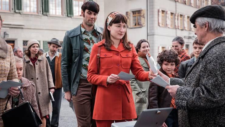 Im Kinohit «Die göttliche Ordnung» erkämpfen sich Schweizer Frauen das Stimmrecht. Landen 2018 bei der No-Billag-Abstimmung mehr Ja in der Urne, wird es für solche Filme schwierig.