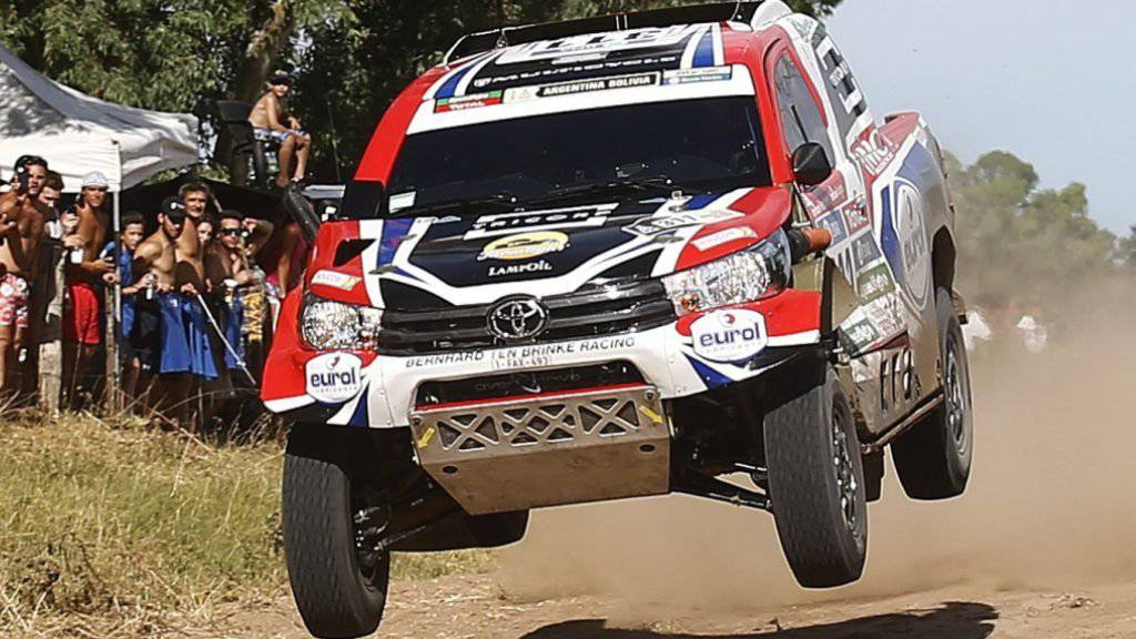 Die Dakar Rallye führt durch Argentinien und Bolivien