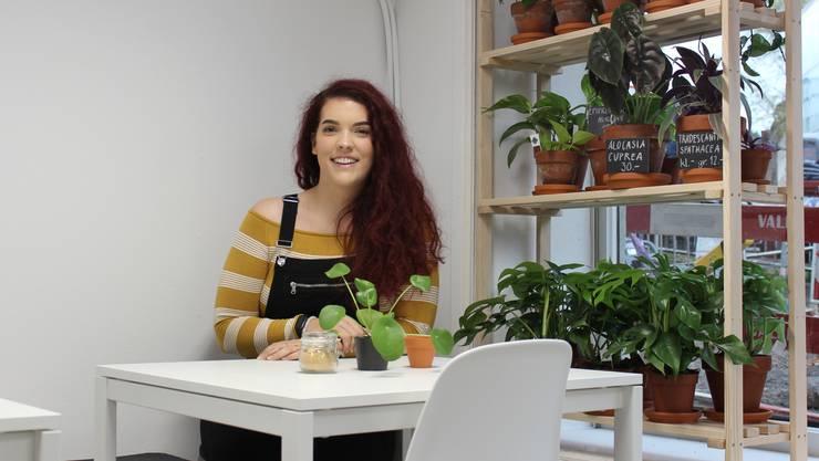 Oxana Kachramanow erfüllt sich mit ihrem neuen Laden einen Traum.