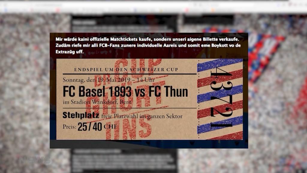 Steht der Cupfinal wegen FCB-Fans auf der Kippe?