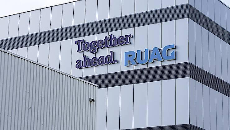 Die Unternehmensstruktur des Rüstungskonzerns Ruag soll bis 2020 angepasst werden. Der Bundesrat will zwei Gesellschaften schaffen. (Symbolbild)