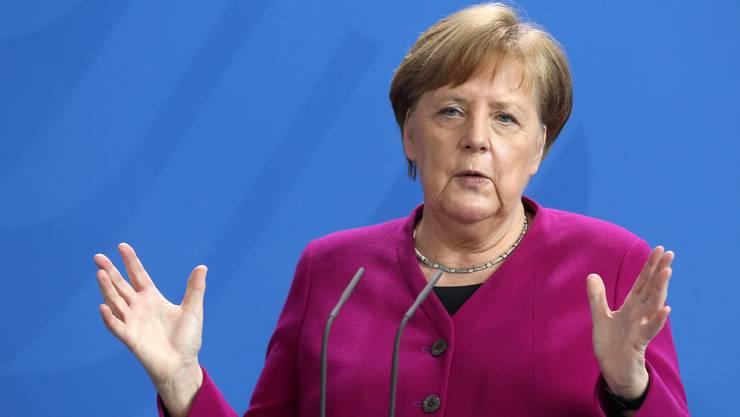 Lässt die Grenzen vorerst geschlossen: Bundeskanzlerin Angela Merkel.