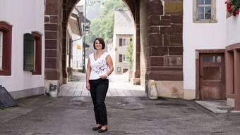 Die Waldenburger Gemeindepräsidentin Andrea Kaufmann hofft auf neue Gewerbezonen. (Archivbild)