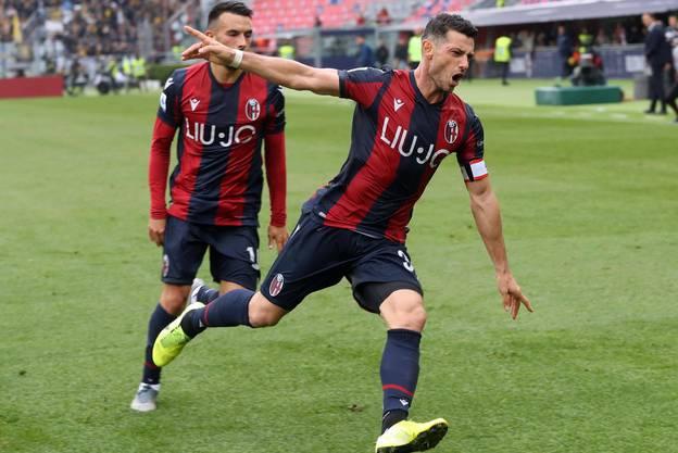 Er rettet Bologna einen Punkt - dank eines Treffers tief in der Nachspielzeit.