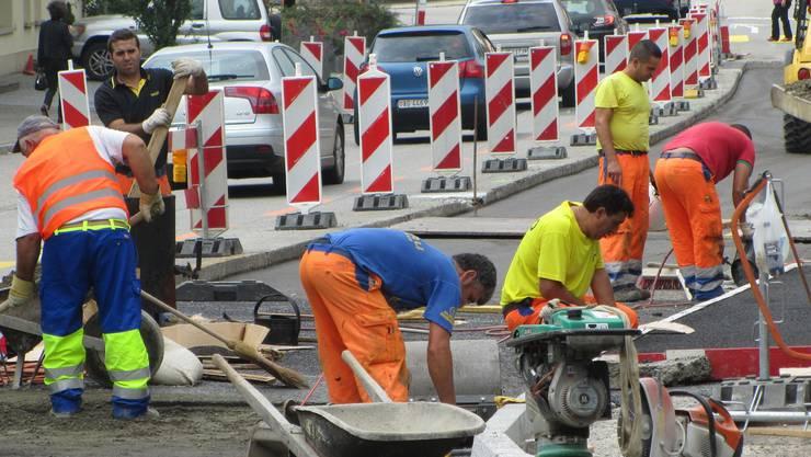 Bei Tiefbauarbeiten wurde eine Gasleitung im Kleinbasel beschädigt. (Symbolbild)