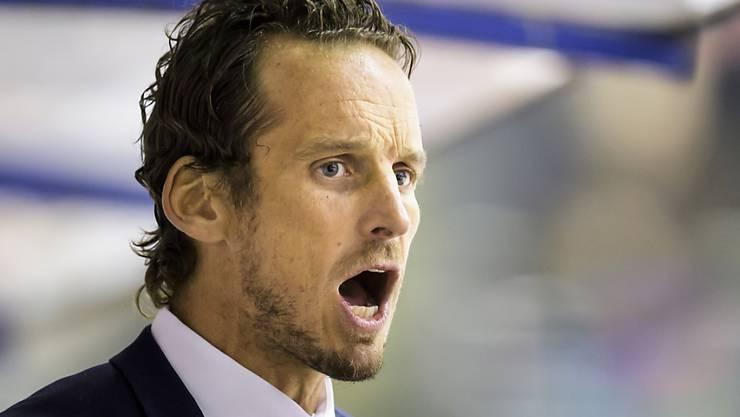 Patrick Fischer kann mit der Leistung in Riga nicht uneingeschränkt zufrieden sein