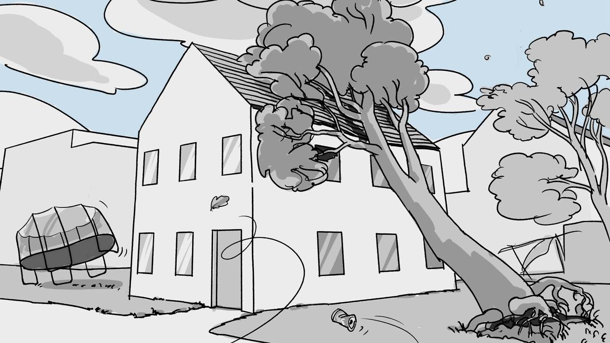 wind-sturm-objekte-fliegen-davon-baum-stuerzt-auf-dach