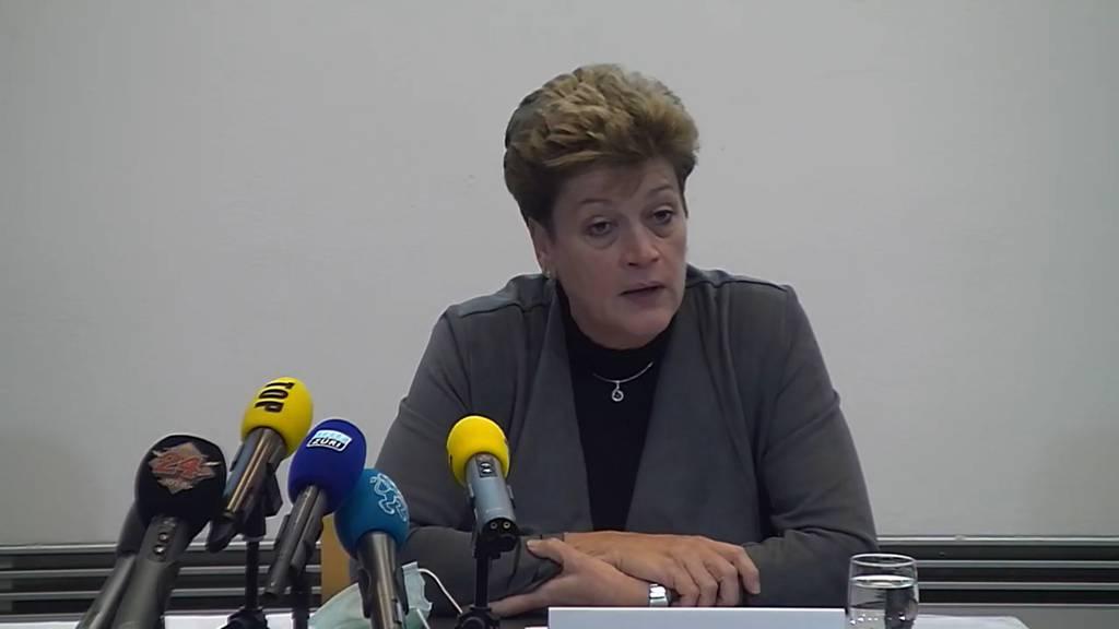 Komplette Pressekonferenz des Kantons Zürich vom 8. Dezember 2020