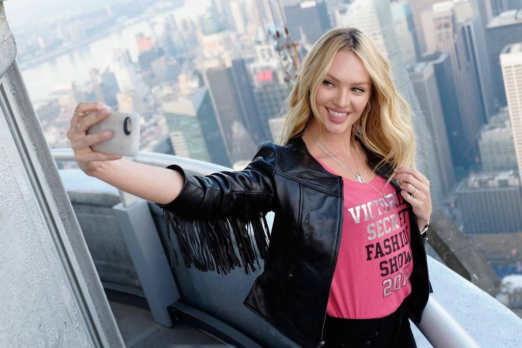 Candice Swanepoel ist auf Platz 10. Sie konnte 3,5 Millionen neue Follower gewinnen. (© Getty Images)