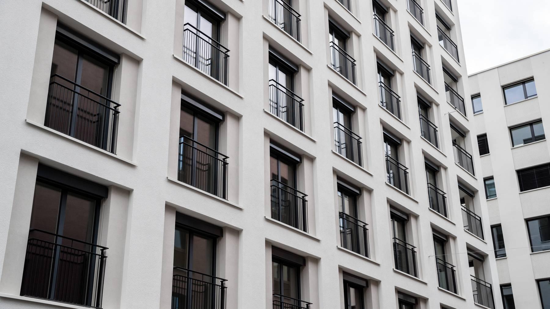 Bei vielen Neubauten liegt der Fokus auf Mietwohnungen. (Symbolbild)