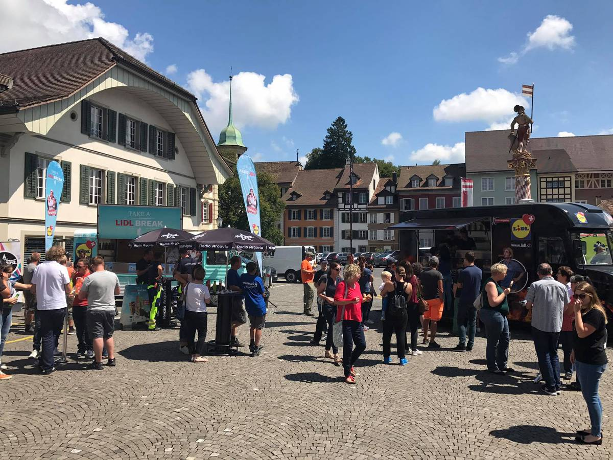 Take a Lidl Break in Zofingen (© Radio Argovia)