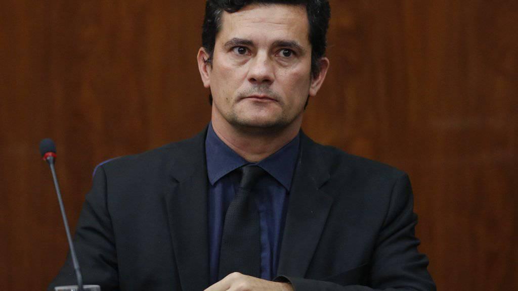 Ermittelt ab sofort nicht mehr gegen Brasiliens Ex-Präsident Lula da Silva: Richter Sérgio Moro.