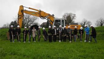 Planer, Handwerker, künftige Eigentümer und Nachbarn sowie Vertreter der Stadt Laufenburg. mf