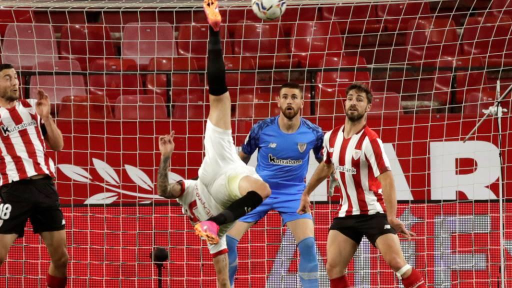 Sevilla erleidet herben Rückschlag im Kampf um den Titel