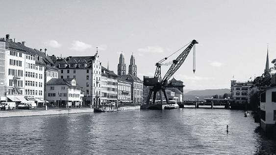 Zürich erhält einen Hochseekran