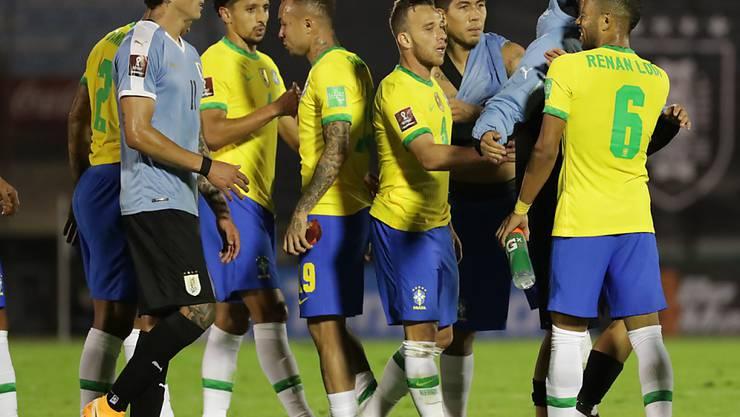Die Brasilianer feierten im vierten Spiel den vierten Sieg