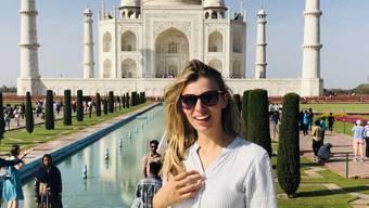 Karin Bertschi in Indien