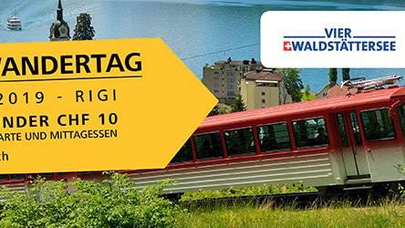 Ab auf die Rigi! Gewinne die letzten Wandertag-Tickets