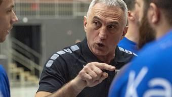 Lohnverzicht bei Kriens-Luzern mit Trainer Goran Perkovac (Bildmitte)