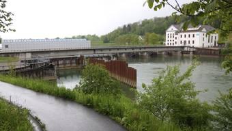 Die beiden Wasserkraftwerke Wynau und Schwarzhäusern produzierten, verglichen mit dem langjährigen Mittel, fast 14 Prozent weniger Strom.