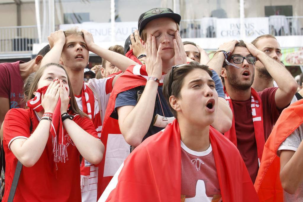 Trauer bei Spielern und Fans (© Keystone)